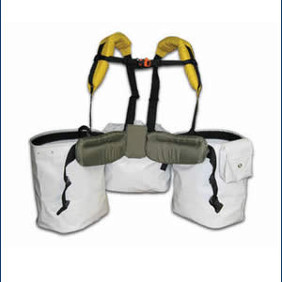 3 pouch planting harness